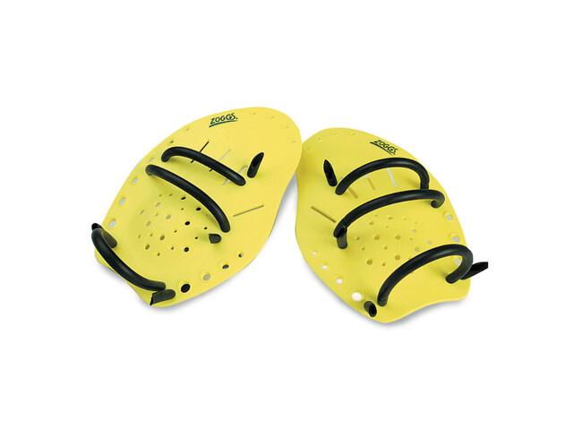 Zoggs Matrix Hand Paddles jaune M